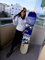 Snowboarder Chick