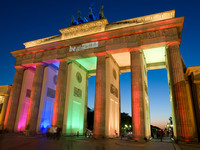 Brandenburg Gate Colours