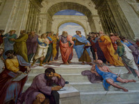 """The School of Athens"" -by Raphael"