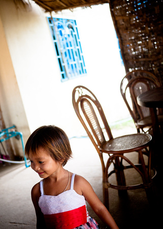 Portrait of a Child, Choeung Ek, Cambodia.